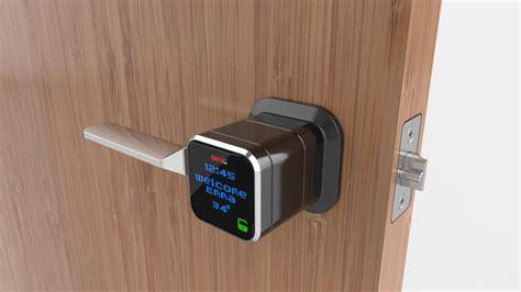 smart door locks genie smart lock opens doors with your phone