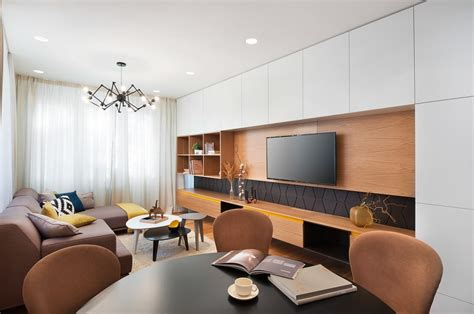 mid century modern apartment a mid century inspired apartment with modern geometric accents