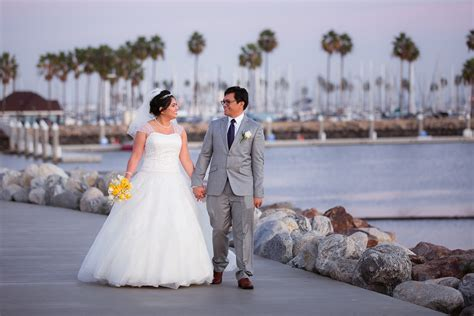 grand long beach event center wedding merlin  golda