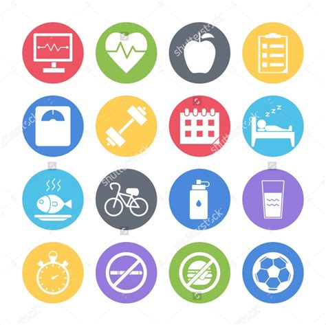 health icons png eps svg format design trends
