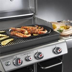 Grand Barbecue Electrique : plancha en c ramique pour barbecue weber grand mod le 48 x ~ Melissatoandfro.com Idées de Décoration