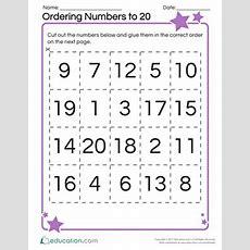 Ordering Numbers 1120 Educationcom