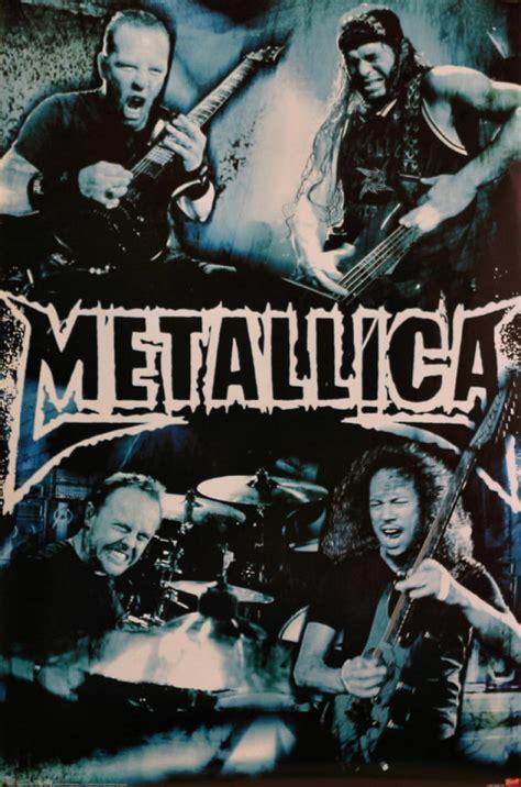 Metallica Vintage Concert Poster, 2007 at Wolfgang's