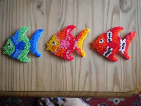 images  fish hamma beads  pinterest