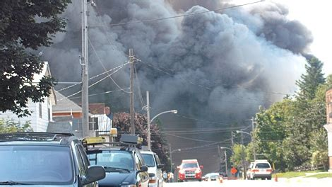 markdale ice cream plant destroyed  fire ctv news