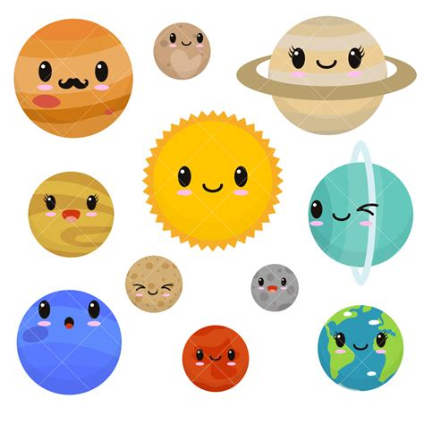 Planets Clipart Planet Clipart Pencil And In Color Planet Clipart