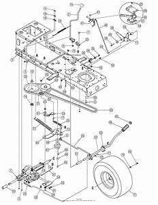 Mtd 13ad771g731  2006  Parts Diagram For Drive