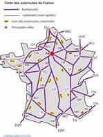 Carte De France Autoroute : documents adapt s pour d ficients visuels ins hea ~ Medecine-chirurgie-esthetiques.com Avis de Voitures