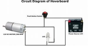 Hoverboard Circuit Diagram
