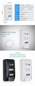 Abs Manual Foam Sanitizer Soap Dispenser With 1000ml