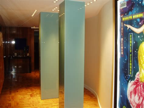 splashbacks painted glass column casings glass