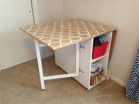 gate leg sewing table sewing pinterest sewing rooms