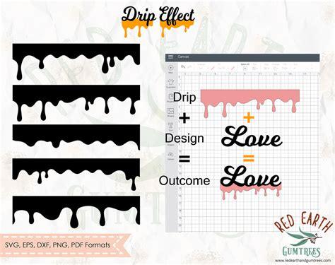 add  drip effect  shapes  cricut design space