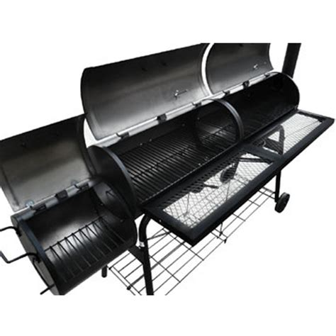 la boutique en ligne barbecue am 233 ricain smoker fumoir compartiment grill vidaxl be