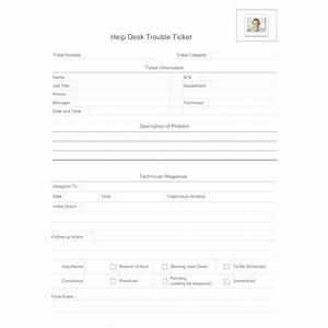 Help Desk Trouble Ticket