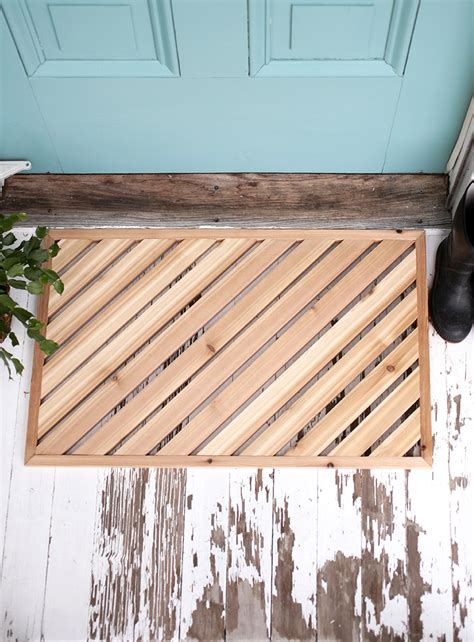 wooden doormats come on in ultra creative diy doormats reliable remodeler