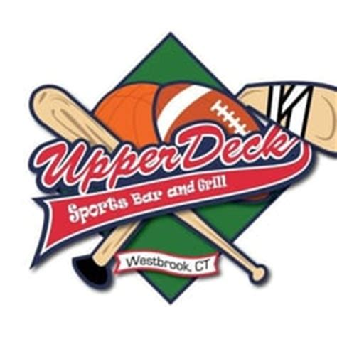upper deck sports bar grill westbrook ct united