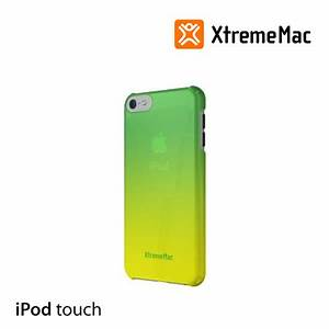 XtremeMac Fade Case for iPod Touch 5th gen Green to Yellow ...