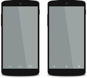 Android Smartphones Mockups transparent PNG - StickPNG
