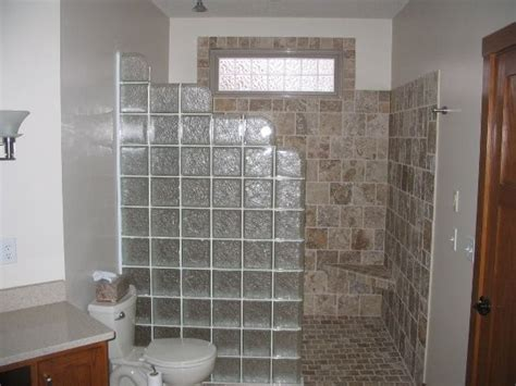 24 best images about bathrooms on glass block