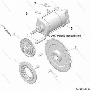 Polaris Side By Side 2019 Oem Parts Diagram For Engine