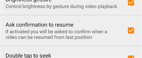 Vlc Resume Playback by Pause Or Resume Playback Options In Vlc For Android