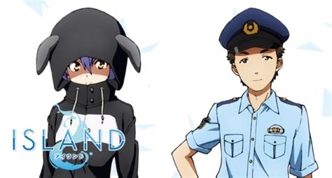 island anime crunchyroll crunchyroll two more mysterious residents join the cast