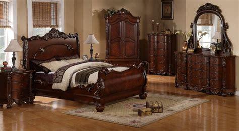 regal cherry  piece bedroom set bedroom furniture sets