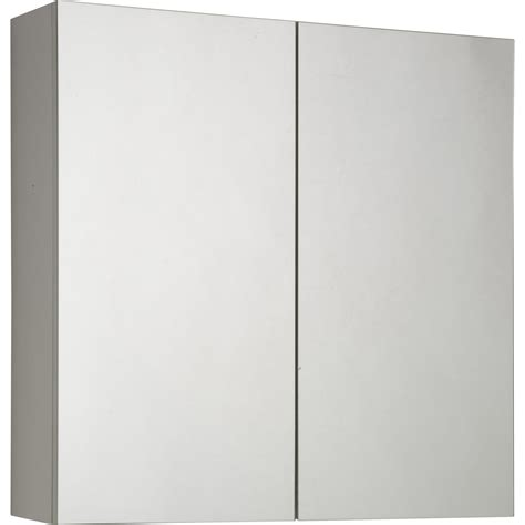 Armoire De Toilette L60 Cm, Blanc, Modulo  Leroy Merlin