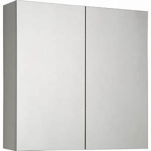 Armoire Largeur 60 Cm : armoire de toilette cm blanc modulo leroy merlin ~ Teatrodelosmanantiales.com Idées de Décoration