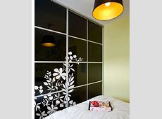 How to Decorate Wardrobe Doors with Paint, Wallpaper or Fabric