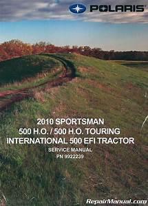 2010 Polaris Sportsman 500 Service Manual