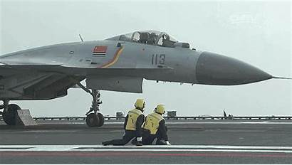 Chinese Carrier China Aircraft Pilot Fighter Flight