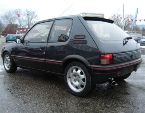 Peugeot 205 Gti For Sale Usa by 1992 Peugeot 205 Gti Bring A Trailer