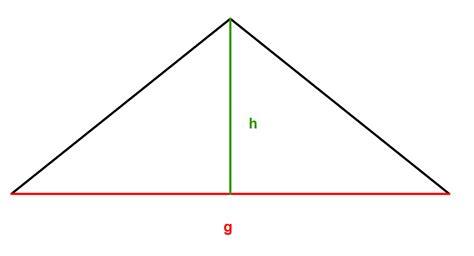 aufgaben zur flaechenberechnung  dreieck lernen mit serlo