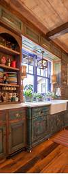 open rustic kitchen cabinets Pinterest • The world's catalog of ideas