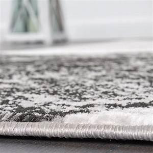Moderne Teppiche Günstig : designer teppich wohnzimmer teppich kreis muster in grau ~ Lateststills.com Haus und Dekorationen
