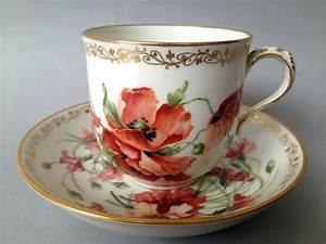 Porzellan Bemalen Berlin : stunning 19th century berlin hand painted porcelain cup and saucer sammeltassen porzellan und ~ Markanthonyermac.com Haus und Dekorationen