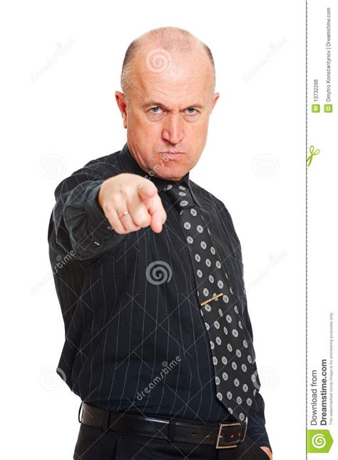 Angry Business Man Royalty Free Stock Image - Image: 13732296