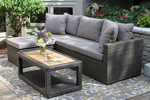 outdoor sofa set with storage home the honoroak With outdoor sectional sofa with storage
