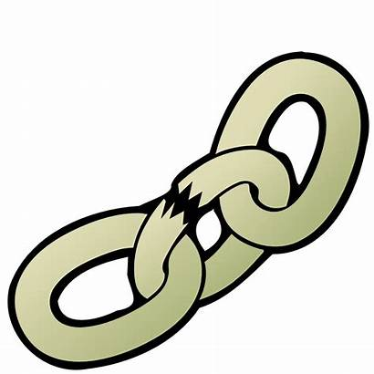Broken Chain Clipart Clip Weaknesses Nicubunu Subpng