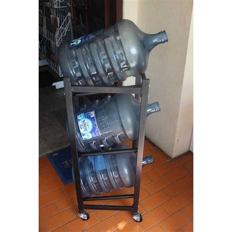 Rak Kosmetik Aluminium rak galon air mineral oleh rak minimarket indonesia di