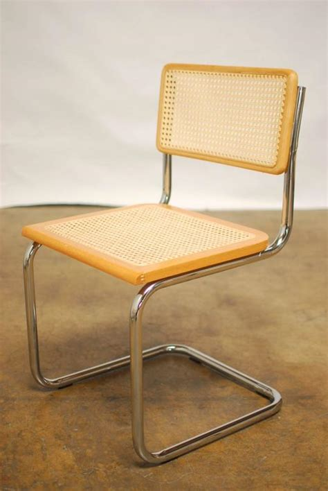 marcel breuer style chrome and chair set at 1stdibs