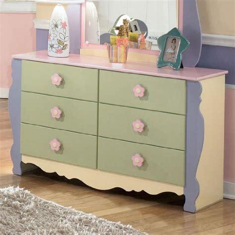 Ashley Furniture Girls Pastel Bedroom Dresser Sale