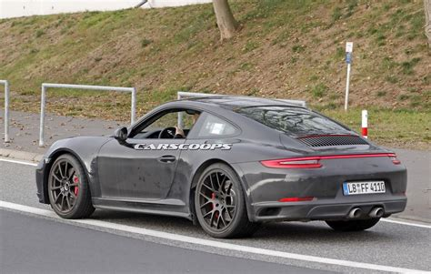 2019 New Porsche by 2019 Porsche 911 Comes Out To Work On Its Brand New