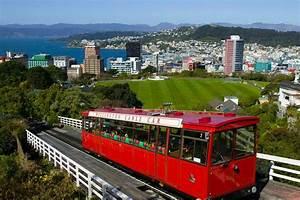 Wellington Cable Car Transport in Wellington, New Zealand