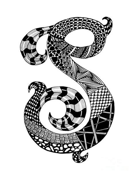 zentangle letter y monogram drawing zentangle alpha zentangle letter s monogram drawing zentangle alpha 87671