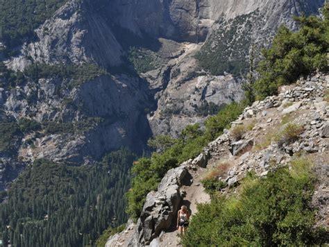 Yosemite Mile Trail Switchbacks Topo Shapespeare
