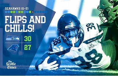 Seahawks Carson Panthers Chris Running Seattle Did