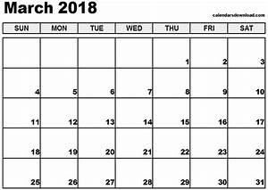 march 2018 calendar template calendar printable free With free downloadable calendar templates for word